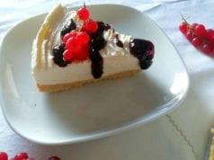 Cheesecake classica senza cottura Bimby