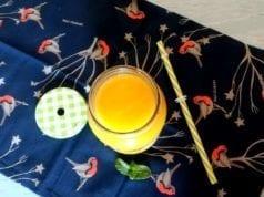 Frullato light al mango e zenzero