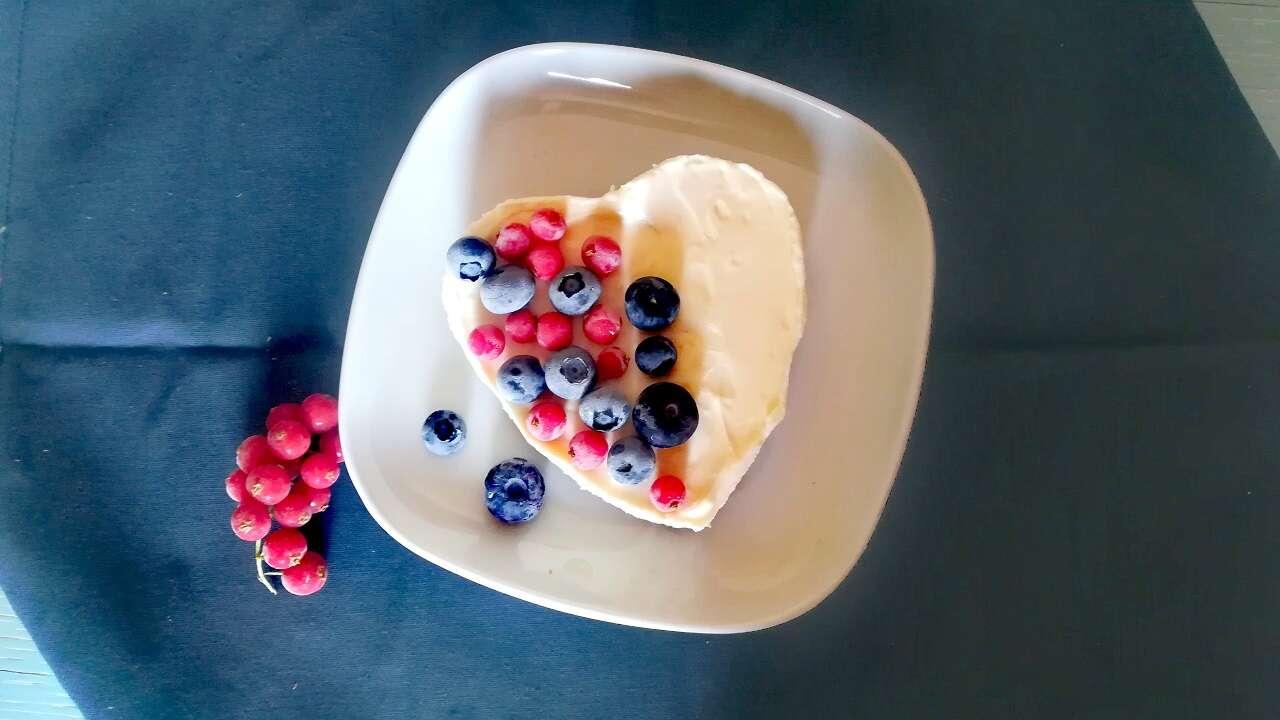 Cheesecake light senza cottura 4