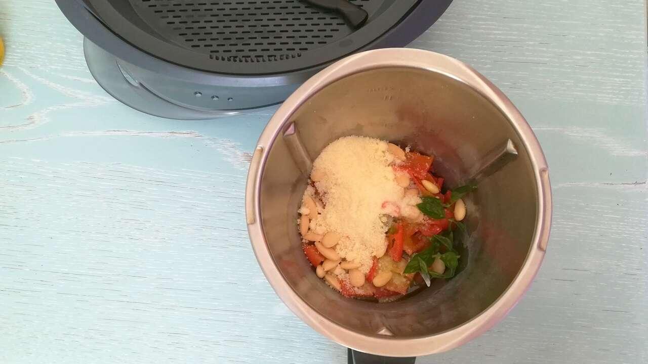 Pesto di peperoni Bimby 1