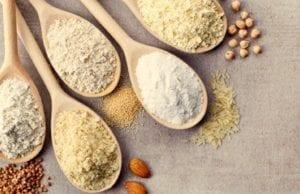 Mix di farine per pane e pizza senza glutine