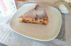 torta alla ricotta senza farina