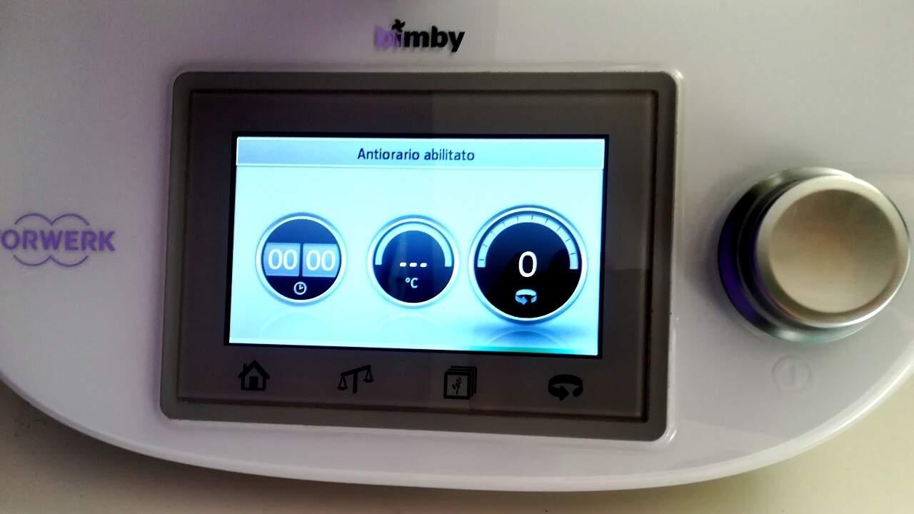 Guida all'uso della modalità antiorario Bimby 1