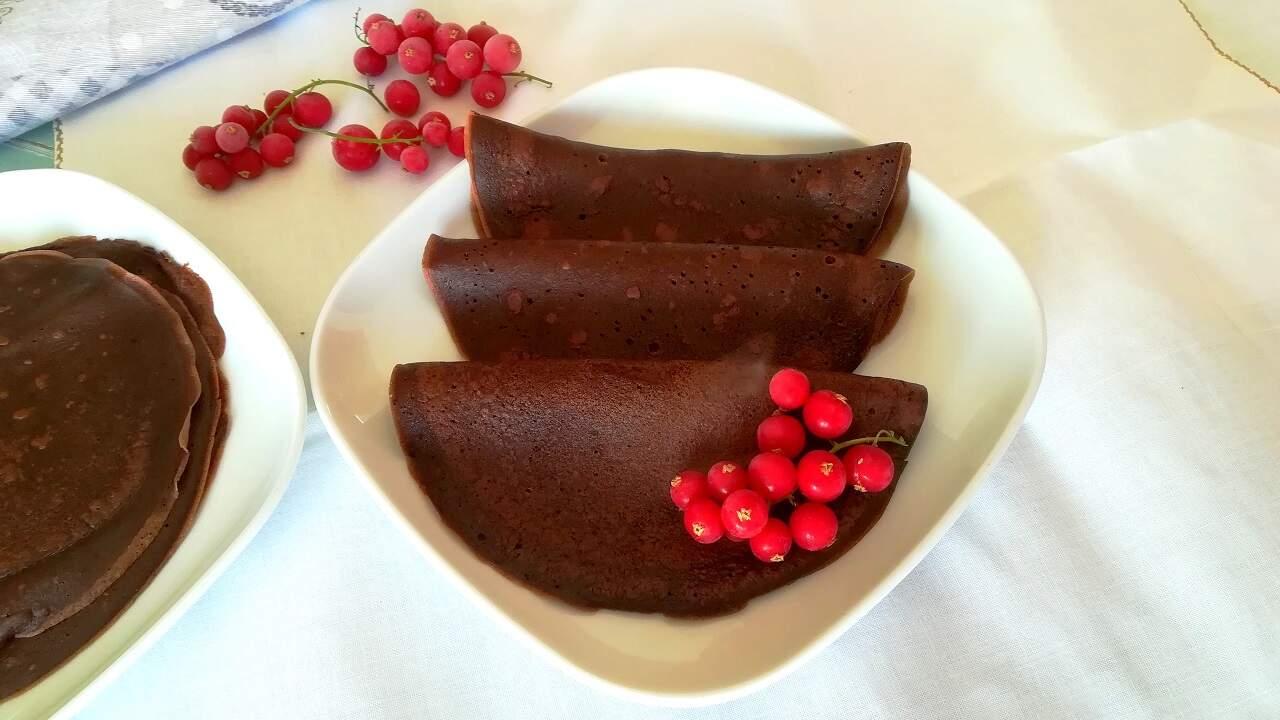 Crepes al cacao 3