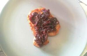 Filetto arrosto con cipolla caramellata