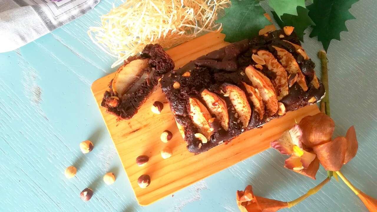 Plumcake cioccolato e mele senza glutine 4