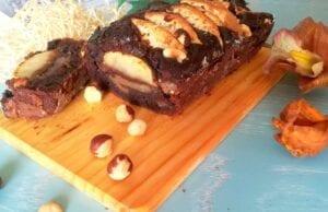 Plumcake cioccolato e mele senza glutine