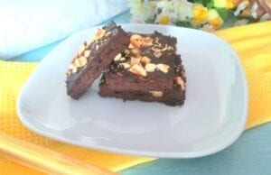 Brownies avocado e banana
