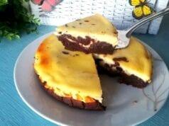 Torta cremosa philadelphia e cacao