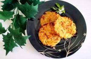 Rosti di patate light al forno