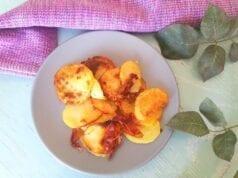Chips di patate al forno con speck