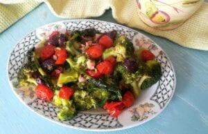 Broccoli con olive e pomodorini Bimby