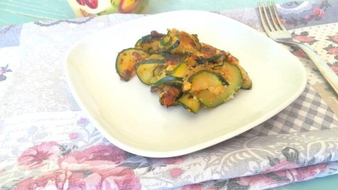 Zucchine veloci in padella al pecorino
