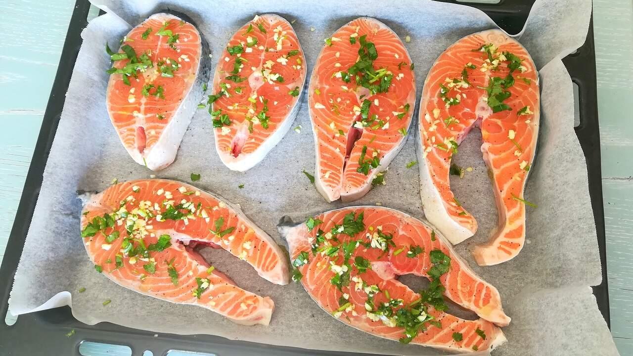 Salmone al forno 1