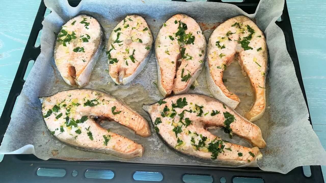 Salmone al forno 2