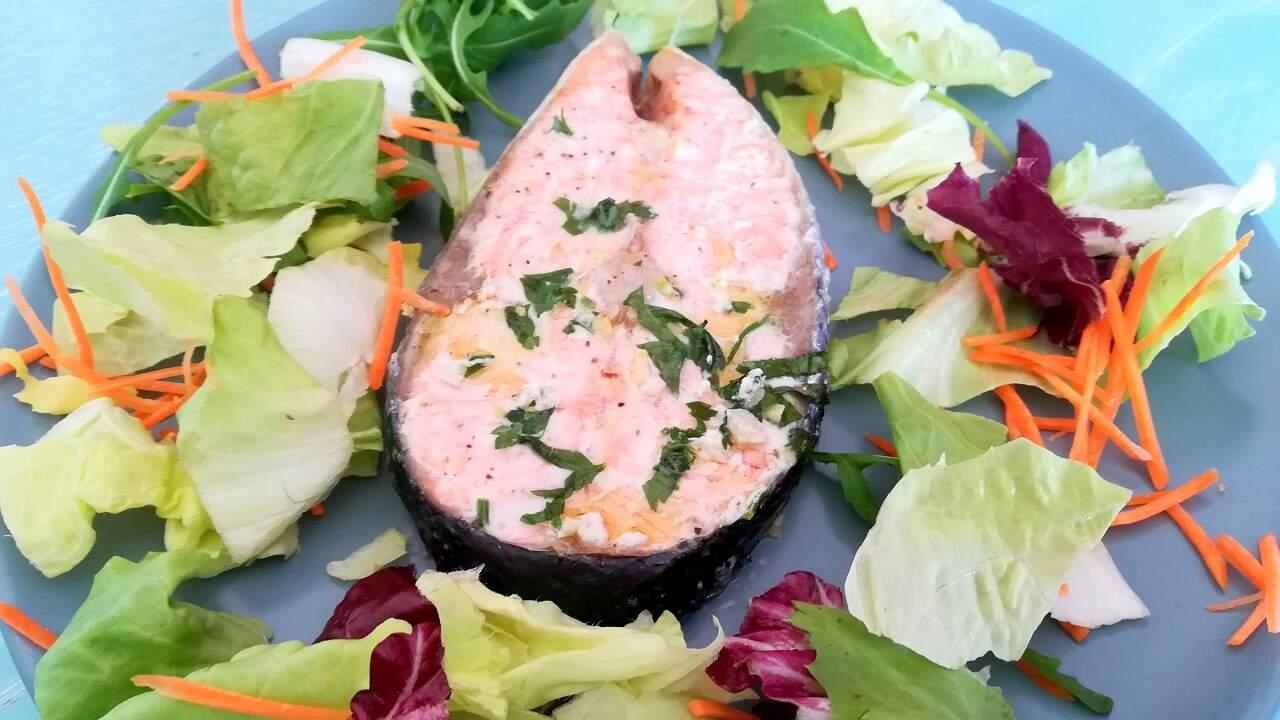 Salmone al forno 4