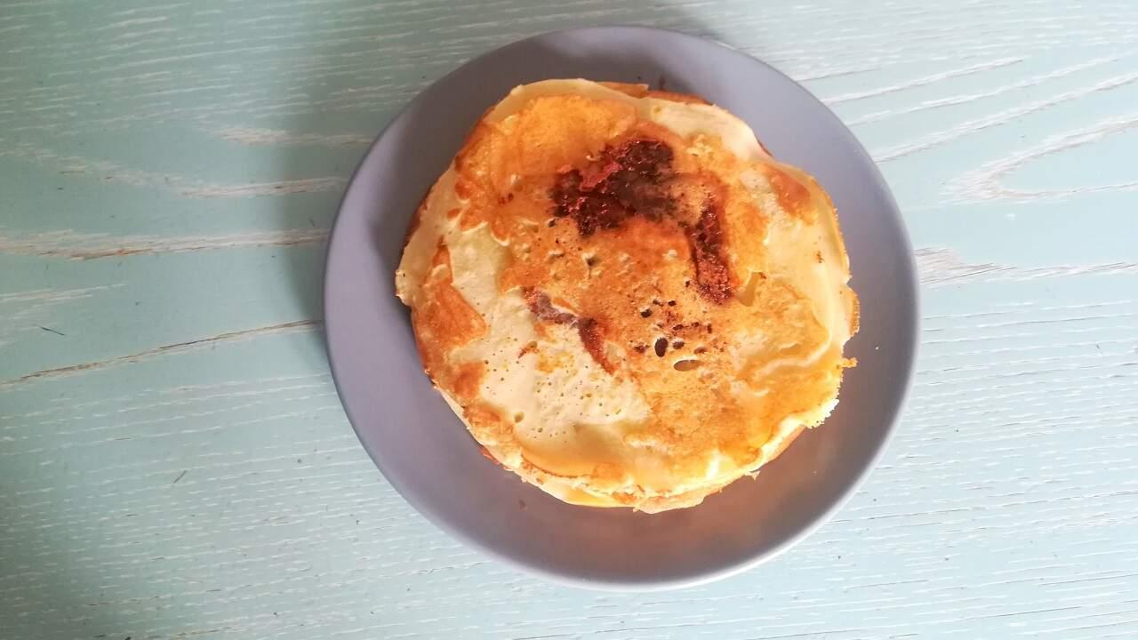 Pancakes alla nutella senza glutine 3