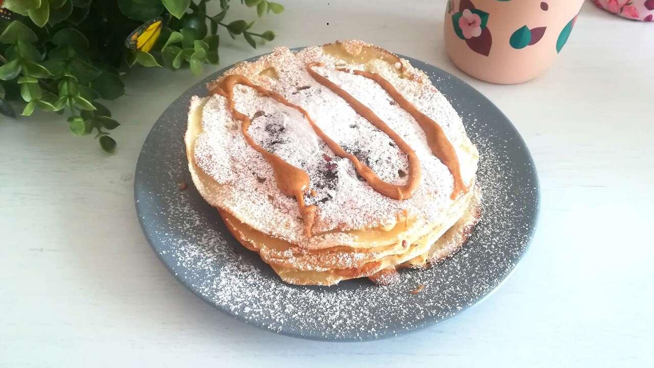 Pancakes alla nutella senza glutine 4