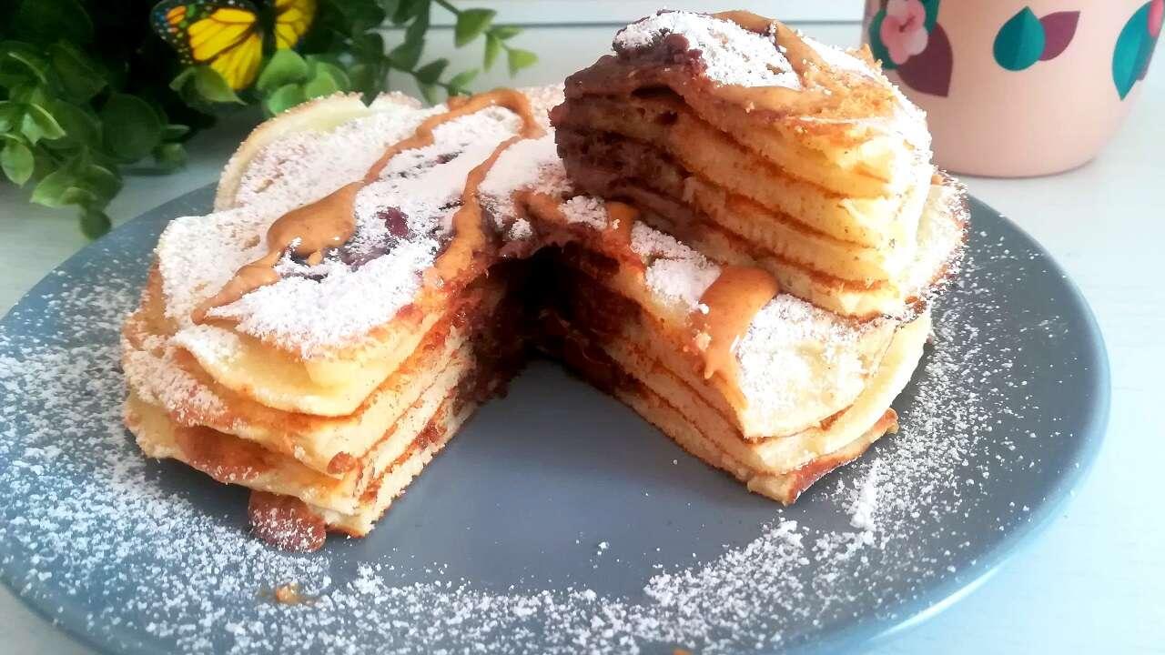 Pancakes alla nutella senza glutine 5