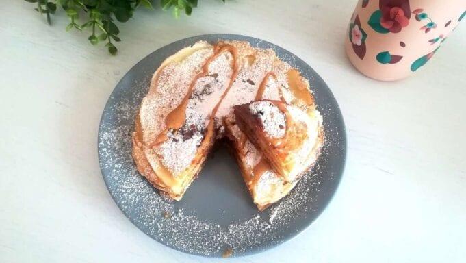 Pancakes alla nutella senza glutine