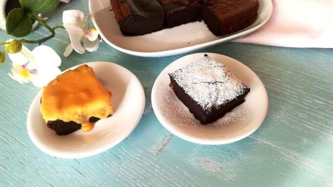 Torta cremosa al latte e cacao