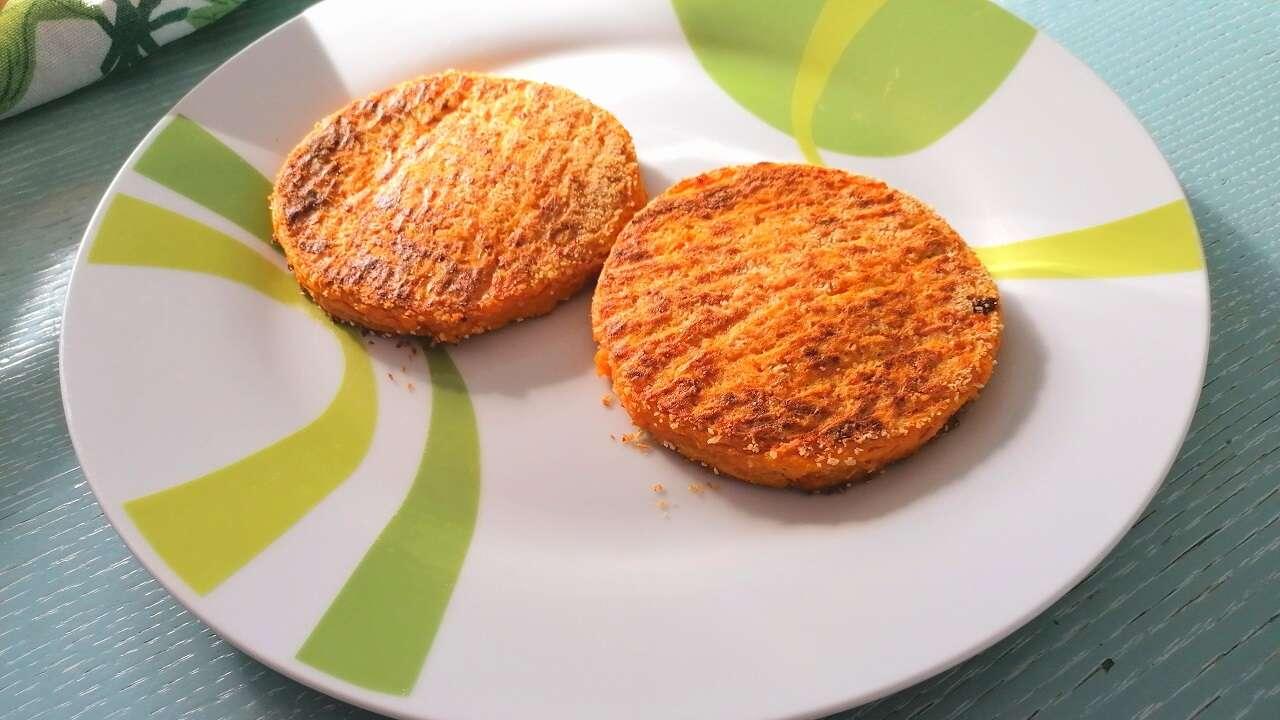 Hamburger di zucca al forno 4