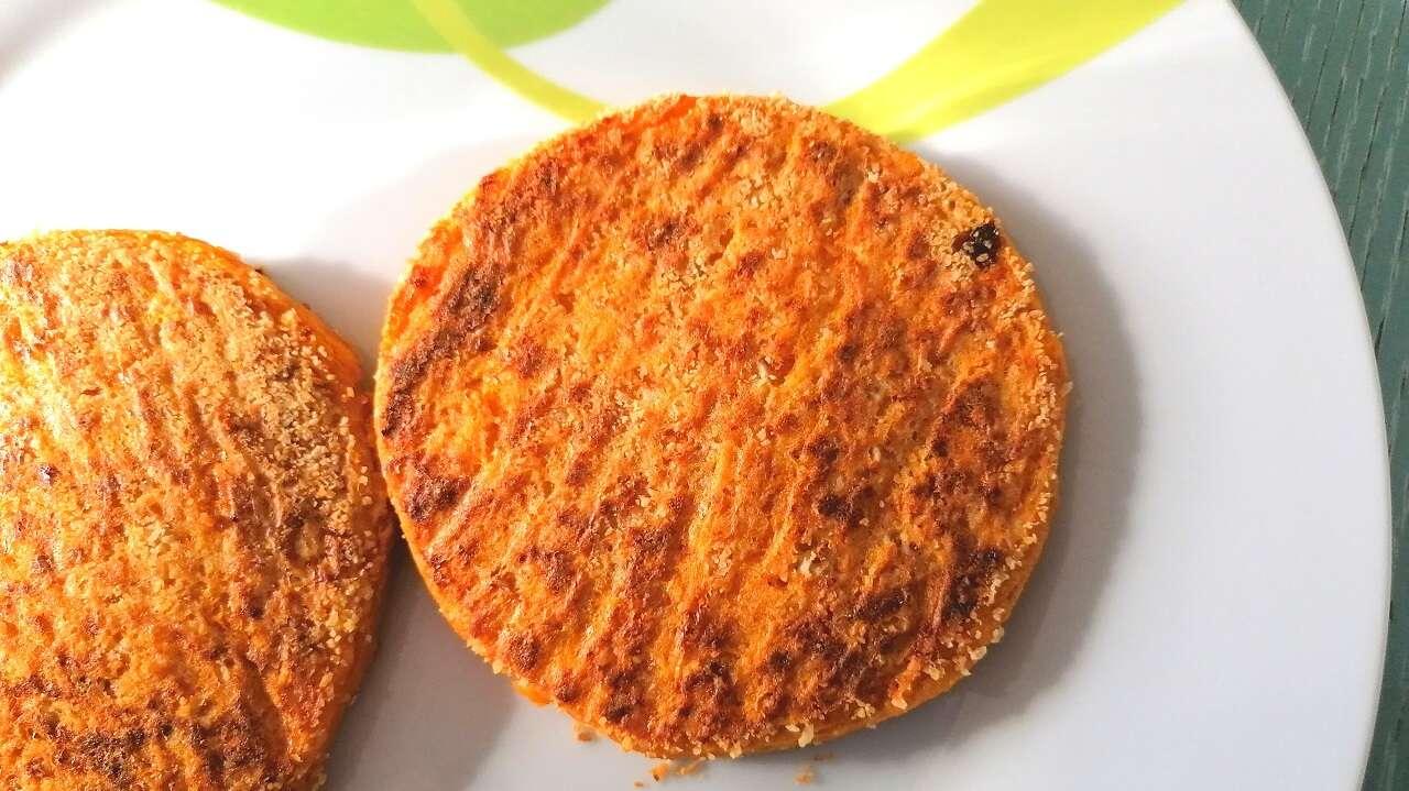 Hamburger di zucca al forno 5