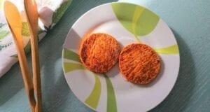 Hamburger di zucca al forno