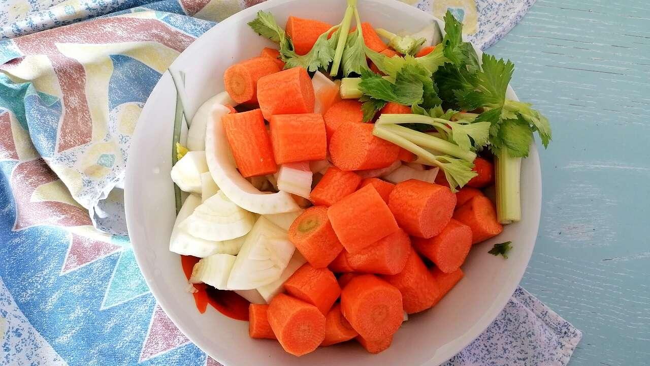 Vellutata detox di carote e finocchi 1