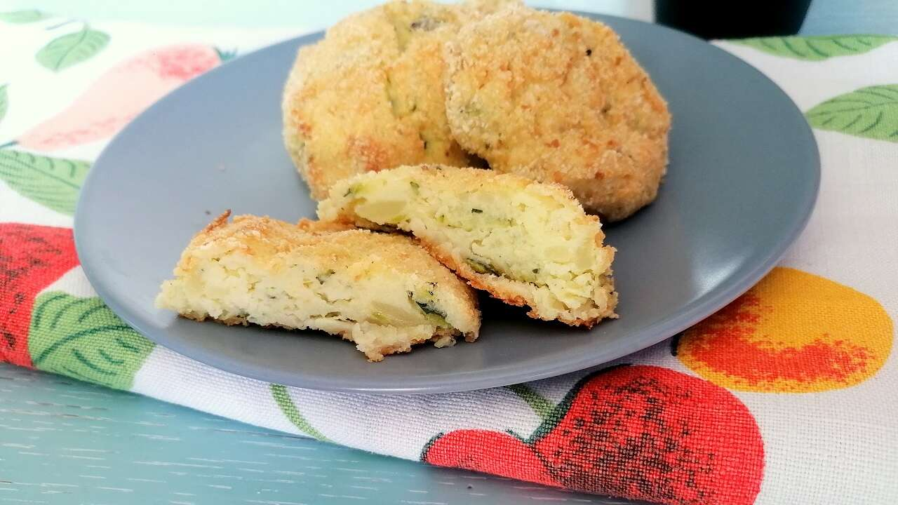 Crocchette di patate e zucchine 6