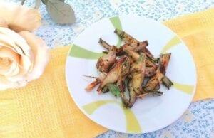 Carciofi fritti aglio e prezzemolo