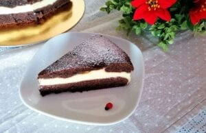 Torta versata al cioccolato con ricotta Bimby