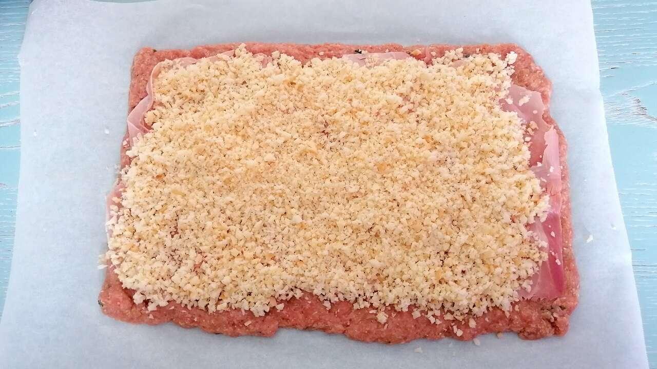 Girelle di carne Bimby, con prosciutto e provola 2
