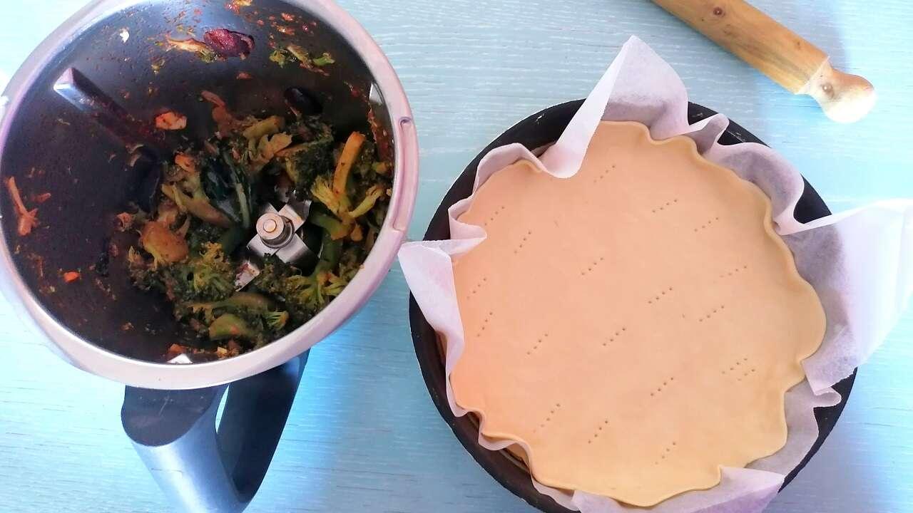 Torta salata ai broccoli 2
