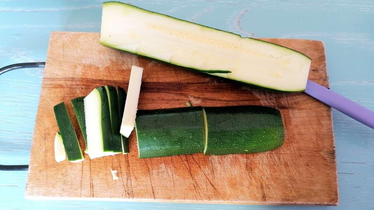 Zucchine stick al forno 1