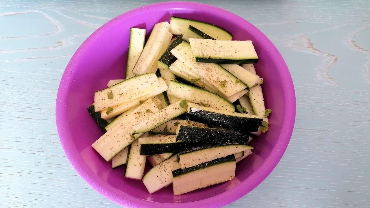 Zucchine stick al forno 2