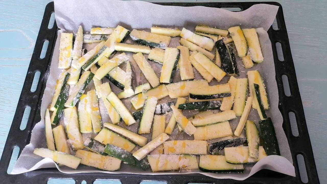 Zucchine stick al forno 3