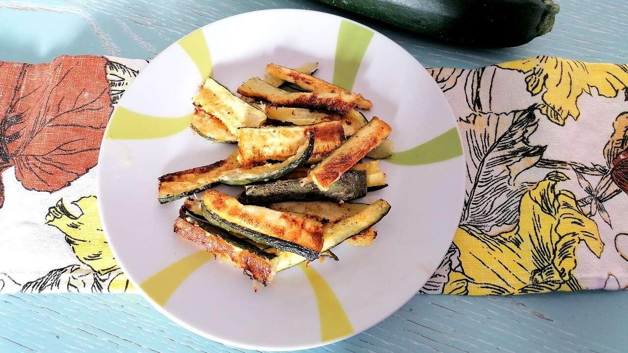 Zucchine stick al forno 4