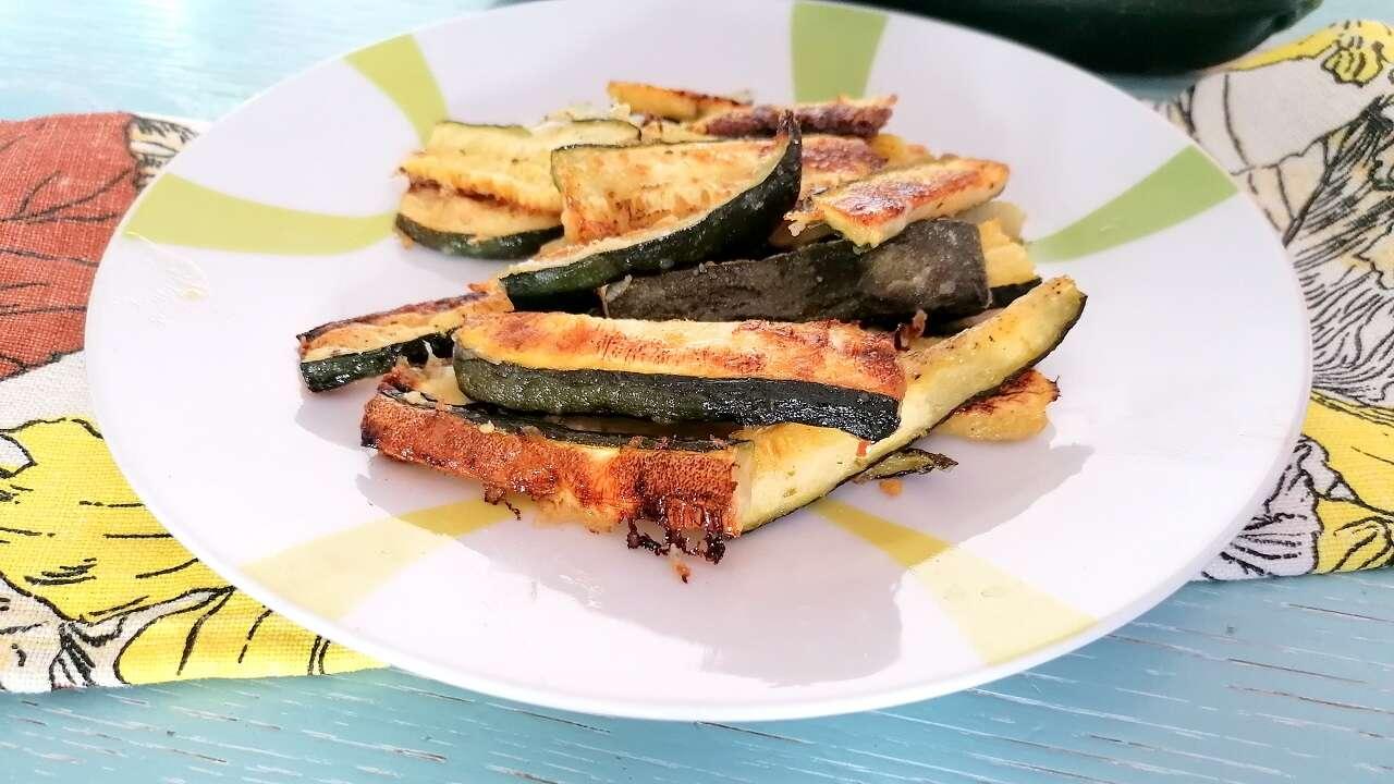 Zucchine stick al forno 5
