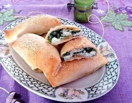 Fagottini di ricotta e spinaci