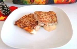 Toast di carne prosciutto e formaggio