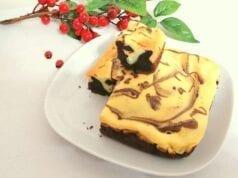 Torta cremosa bicolore