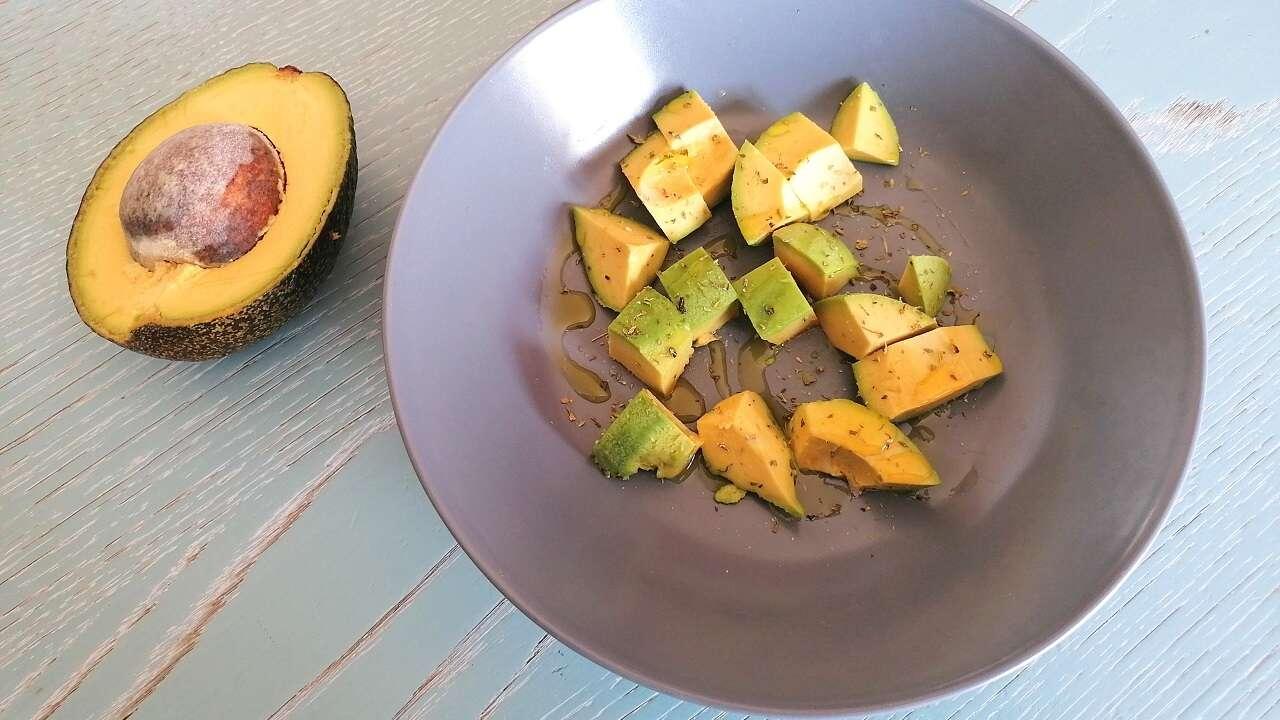 Insalata di avocado 1