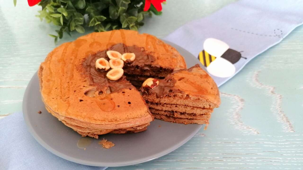 Pancakes proteici e fit 5